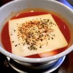 らぁ麺 汁八番 - 焦がしチーズのトマトつけ麺