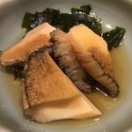 銀座寿司幸本店 - 蝦夷鮑の煮物