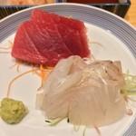 銀座寿司幸本店 - まぐろ / ひらめ