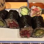 銀座寿司幸本店 - ねぎとろ / 梅きゅう