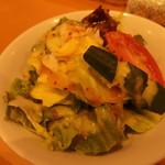 豊後牛ステーキの店 そむり 鉄板焼 - (2019年02月)サラダ
