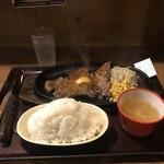 すてーき亭 - ステーキ+ごはん