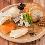 チーズ盛り3種