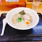 108298504 - 阿波地鶏塩らぁ麺(*^¬^*)