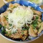 たらふく - 料理写真:焼き豚丼(500円)