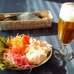 10830801 - サラダバー+生ビール