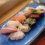 10830846 - 寿司のアップ