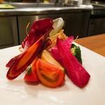 108300470 - 季節野菜の菜園バーニャカウダ