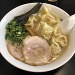 ラーメン茂木 - 「雲呑麺 わんたんめん」900円