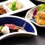 かき船 かなわ - 広島三昧コース【かき・魚・肉】