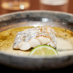 108306118 - 太刀魚の塩焼き