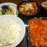 108307544 - エビチリ&麻婆豆腐セット(1,000円)