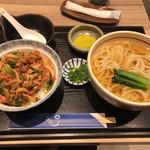 うどん そば処 きのさき - 料理写真:きのさき定食