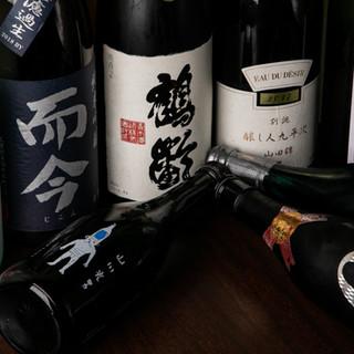 日本酒は常時50種類以上!みりんのソーダ割りもおすすめ♪