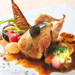 レストラン ワタナベ - ウズラ ファルス