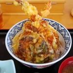 レストラン汐菜 - 海老天丼
