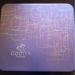 ゴディバ - クッキーアソートメントの入れ物