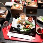 古泉閣 - 夕食
