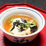 古泉閣 - 蓋物 小芋と鰻の東寺蒸