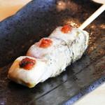 焼き鳥 鶏空 - 料理写真:ささみ梅