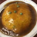 中華料理 一番 - 天津飯  甘目