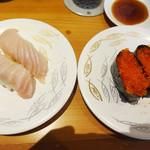 ひまわり寿司 - びんとろととびっ子。
