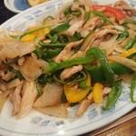 新川大勝軒飯店 - ・青椒肉絲、、に見えなくもある