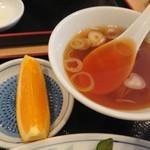 新川大勝軒飯店 - ・汁とデザート