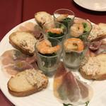 銀座ワイン食堂 パパミラノ - 前菜