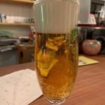 本と酒 安西コーブンドー - 生ビール