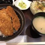 108336761 - カツ丼セット(ランチ)