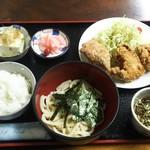 弁天食堂 - 料理写真:唐揚げ定食750円