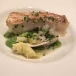 レストラン ル ボヌール - 主菜2:甘鯛