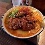 泡盛と沖縄地料理あかはち - *あかはちそば(¥880)