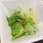 つきじ川食堂ひさ野 - サラダ