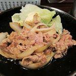 炭火焼鳥 くろちゃん - 焼肉定食2011/12