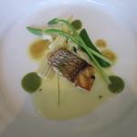 RISTORANTE INCROCI - 平戸の真鯛のポワレ