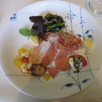 RISTORANTE INCROCI - 前菜の盛り合わせ