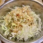 立川焼肉屋台 ミートパンチ - 通しキャベツ