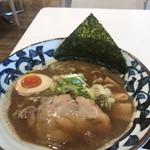 弟子屈ラーメン - 料理写真:魚介しぼり醤油ラーメン¥800