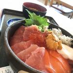 のっけ家 - 富士川限定スペシャル海鮮丼@1800