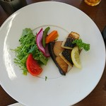 108357744 - 魚料理。鯖と鰤