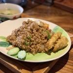 Nettaishokudou - カオパッガパオ…うまく言えんけどまちがい美味さ