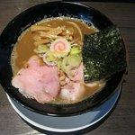肉そば屋にっこう - 濃厚煮干そば(760円)