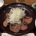 伊達の牛たん本舗 - 通定食の牛たん焼き('19/05/25)