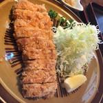小椿 - ロース定食¥1600-