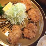 小椿 - ヒレカツ定食¥1600-