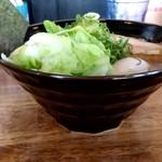 108363261 - 【2019.5.25(土)】特製豚骨醤油ラーメン(並盛・150g)1,050円