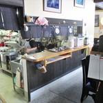 水と緑のふる里 森の駅 - 入店して すぐの処に 厨房があります。     2019.05.19