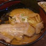 一期一会札幌みその - 濃厚カニ味噌ラーメン。